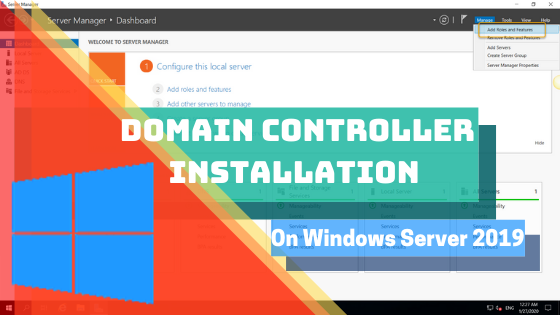 How to Install Domain Controller on Windows Server 2019