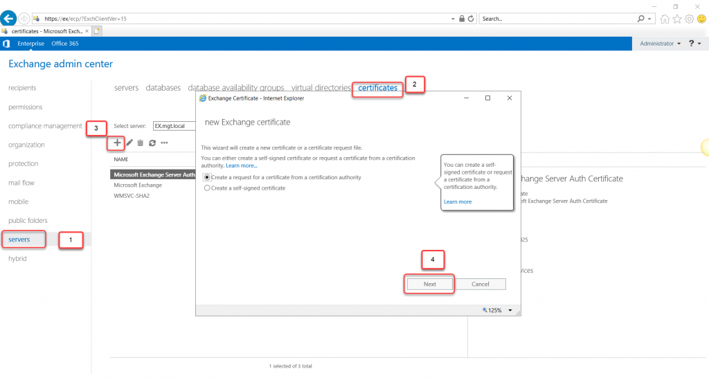 Exchange Server 2019 Installation and Configuration